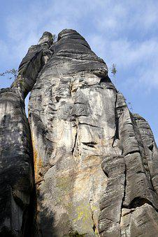 Adršpach, Rocks, Czech, Nature, The Sky, Lovers