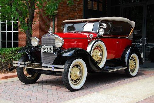 Vintage Car, Classic Automobile, Style, Antique