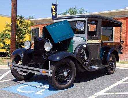 Vintage Truck, Antique, Retro, Restored, Old, Vehicle