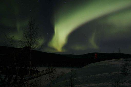 Aurora Borealis, Polar Lights, Alaska