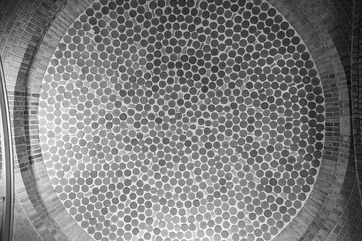Dots, Black And White, Texture, Circle, Symmetrical