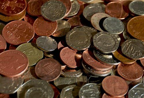 Coins, Cash, Money, Currency, Business, Finance