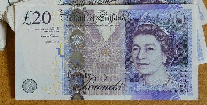 Twenty, Note, Money, Cash, Financial, Economy, Bank