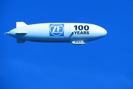 Zeppelin, Sky, Fly, Airship, Lake Constance, Aircraft