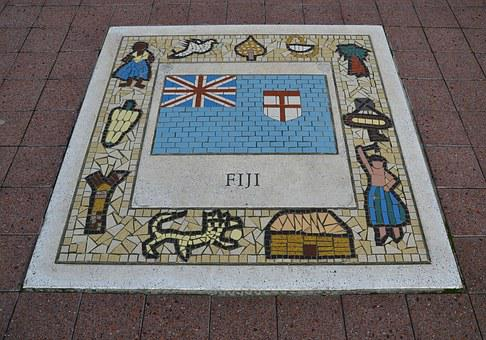 Fuji, Team Emblem, Rugby, Flag, Game, Label, Emblem