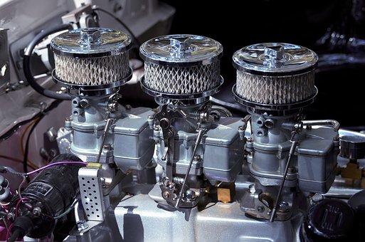 Vintage, Car Engine, Auto, Motor, Antique, Retro