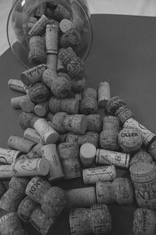 Wine, Champagne, Cork, Drink, Red, Alcohol, Bottle
