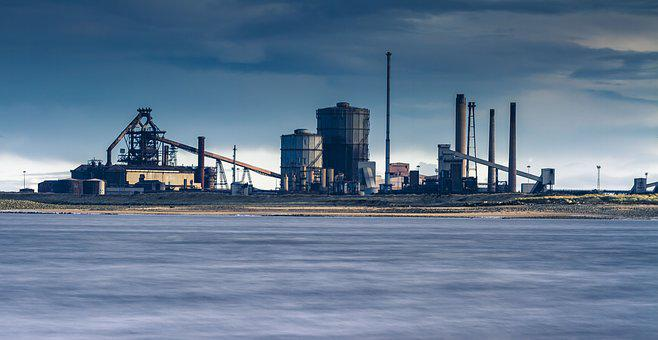Industry, Plant, Industrial, Manufacturing, Production
