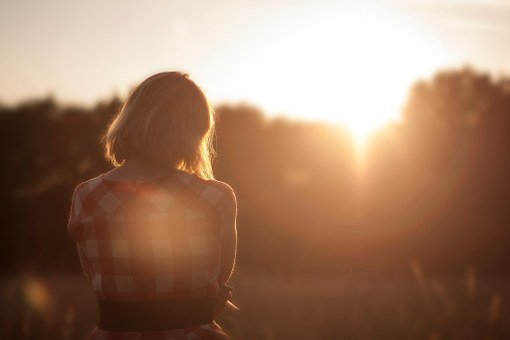 Girl, Person, Lonely, Pretty, Sunset, Dreaming