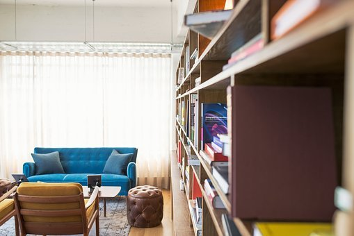 Blur, Bookcase, Books, Colors, Colours, Contemporary