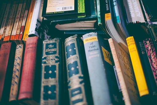 Book, Book Stack, Bookcase, Books, Business, Colors