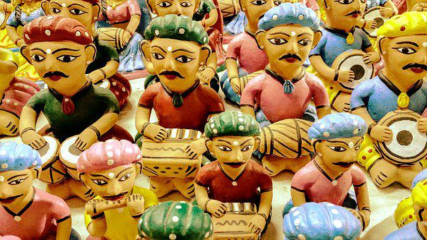 Bright, Colorful, Culture, Folk, Handicraft, Indian