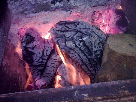 Coals, Koster, Fire