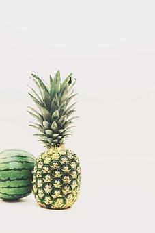 Food, Fruit, Healthy Food, Pineapple, Tropical Fruit