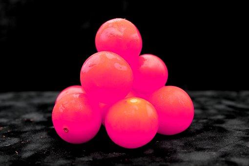 Fruit, Neon, Pink, Tomato