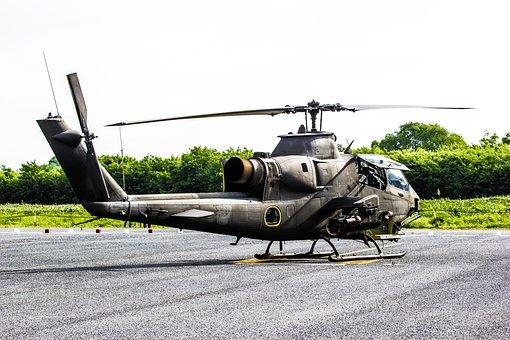 Attack, Cobra, Helicopter, Pilot, Transportation