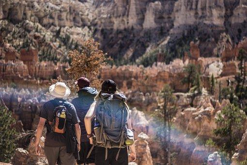 Adult, Adventure, Bag, Blur, Canyon, Close-up, Focus