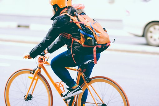 Bicycle, Bike, Biker, Cyclist, Person, Ride, Road
