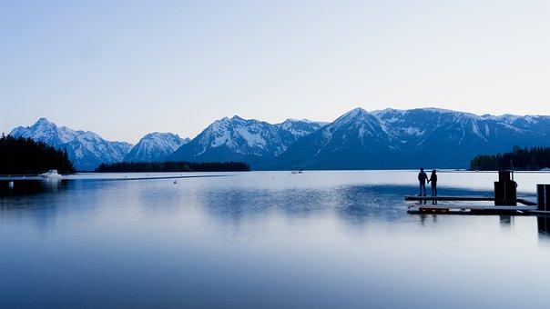 Couple, Dawn, Daylight, Dock, Evening, Glacier, Ice