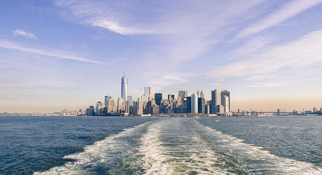New York, Ny, Usa, Buildings, City, Cityscape, Downtown