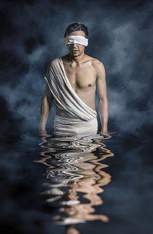 Adult, Blind Folded, Body, Dark, Fashion, Man, Model