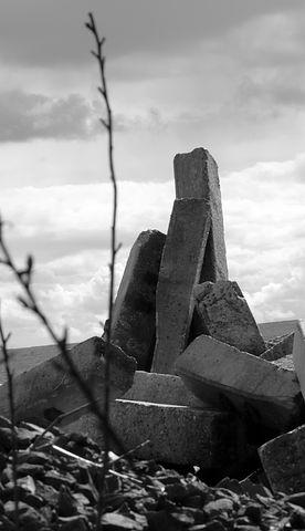 Destruction, Devastation, Landscape, Demolition