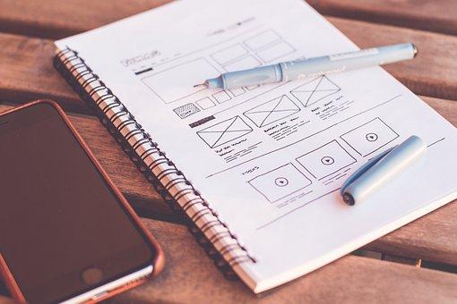 Blur, Cellphone, Close-up, Design, Designer, Desk