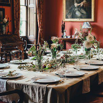 Banquet, Chair, Cutlery, Dining Room, Flatware