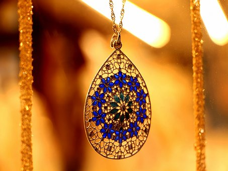Blue, Gold, Green, Jewellery, Precious Stone
