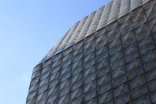 Architecture, Blue, Abstract, Stove, Dibadlo, Prague