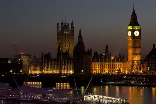 Architecture, Big Ben, Boat, Bridge, Buildings, City