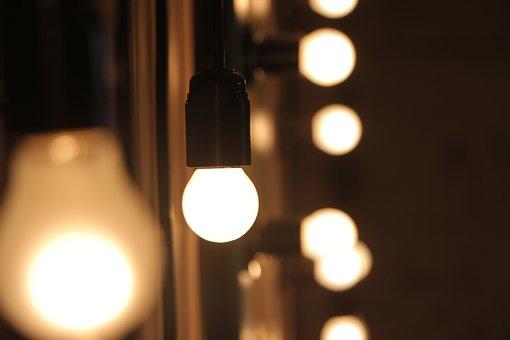 Blur, Bokeh, Bright, Cozy, Electricity, Focus, Hot