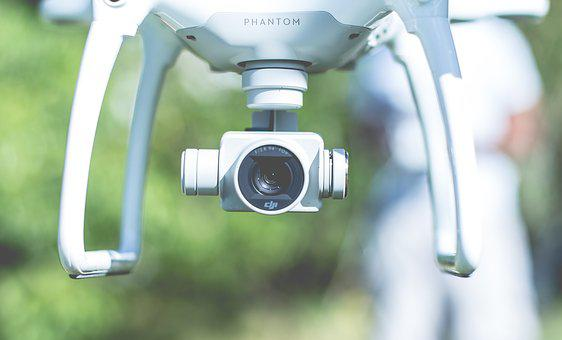 Camera, Drone, Flying, Gadget, Lens, Technology