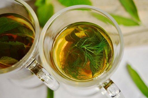 Herbal Tea, Herbs, Tee, Fennel, Mint, Sage, Aroma