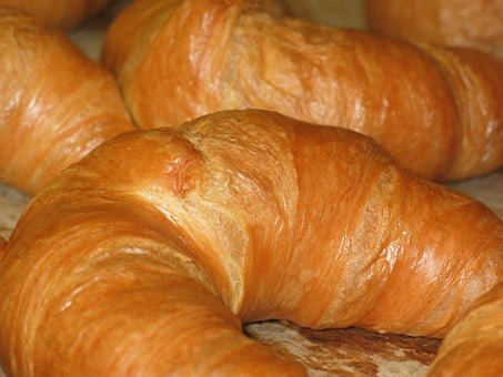Croissant, Baked Goods, French, France, Eat, Breakfast