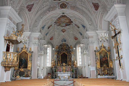 Church, Fulpmes, Stubai, House Of Worship, Pray