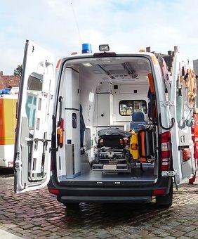 Ambulance, Ambulance Service, Doctor On Call, Accident