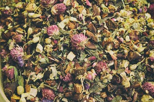Tea, Leaves, Mixed, Drink, Healthy, Herbal, Dry, Leaf