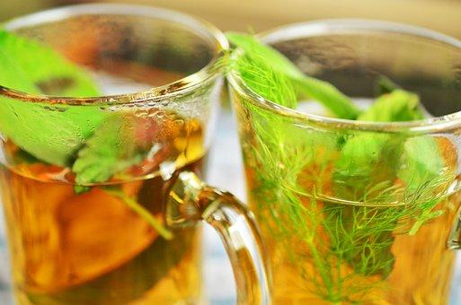 Herbal Tea, Herbs, Tee, Mint, Aroma, Sage, Fennel