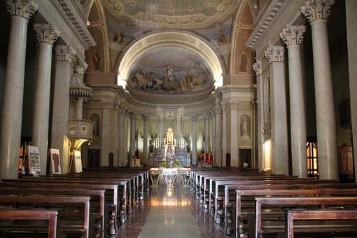 Interior, Church, House Of Worship, Altar, Inside