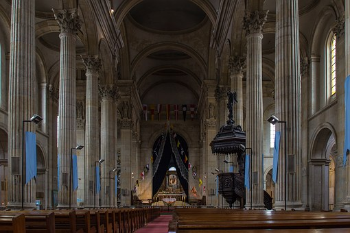 Church, Boulogne Sur Mer, Cathedral, Religion, Building