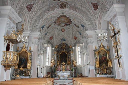 Church, Fulpmes, Stubai, House Of Worship, Pray