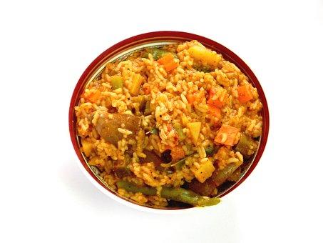 Rice, Food, Bowl, Meal, Asian Food, Vegetables
