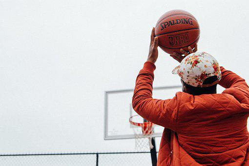 Action, Adult, Athlete, Ball, Basketball, Cap, Court