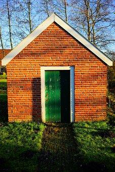 Cottage, Old, East Frisia, Backhaus, Building