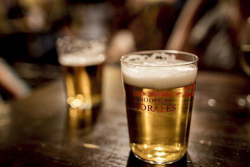 Alcoholic Beverage, Bar, Beer, Drink, Drinking Glass