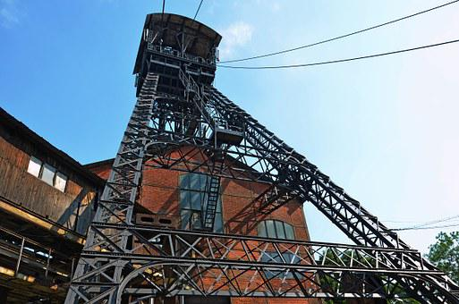 Industry, The Jindřich Mining Tower, Mining Of Coal