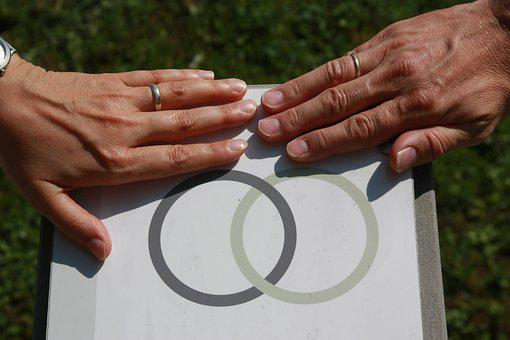 Marriage, Hands, Rings, Sign, Wedding, Love, Romance