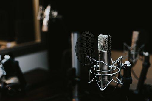 Indoors, Macro, Mic, Microphone, Sound, Sound Recording