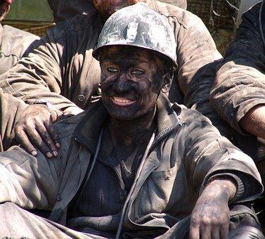 Miner, Man, One, After Work, Minerals, Coal, Mine
